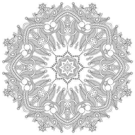 a round: Circle ornament, ornamental round lace