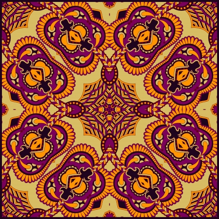 western wear: Traditional ornamental floral paisley bandanna. Ornament seamless background . You can use this pattern in the design of carpet, shawl, pillow, cushion