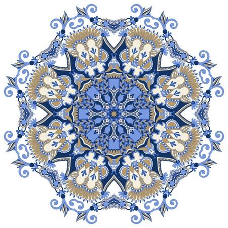Kreis Ornament, ornamental runde Spitze