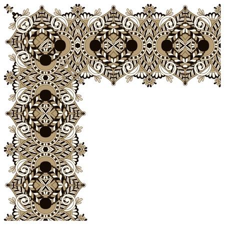 acanto: dise�o ornamental floral vintage. Vectores