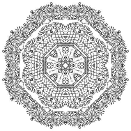 yıldız: Çember süsleme, siyah ve beyaz süs yuvarlak dantel