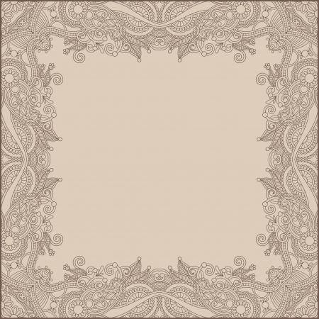 floral vintage frame Stock Vector - 17367402