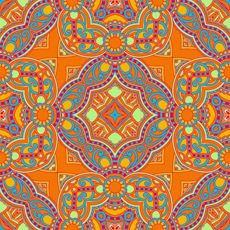 original retro paisley seamless pattern Stock Vector - 17367246