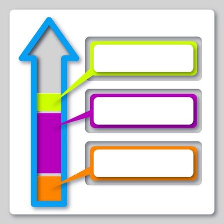 graficas de pastel: papel cortado diseño de negocios icono infografía Foto de archivo