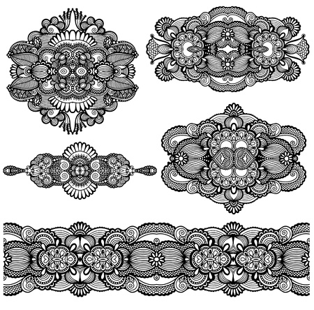 ornamental floral adornment Stock Vector - 18929546