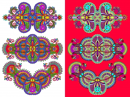 ornamental floral adornment for your design Vector
