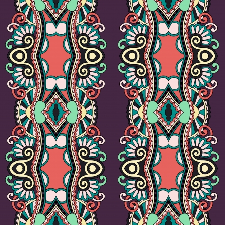 geometry vintage floral seamless pattern Stock Vector - 21791450