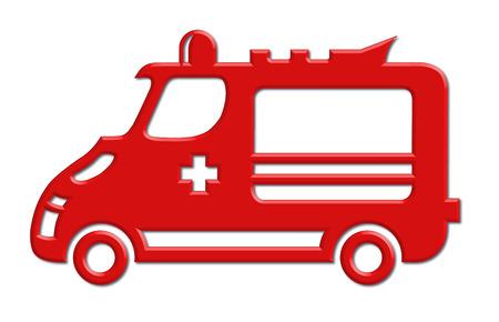 motor vehicle: ambulance car icon