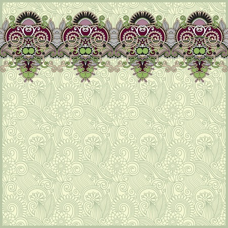 stripe pattern: ornamental background with flower ribbon, stripe pattern, greeting card.