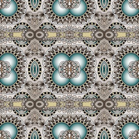 encaje: Modelo incons�til de la geometr�a de la vendimia, estilo fondo ornamental �tnico, decoraci�n floral adornado para el dise�o de la tela, la textura infinita