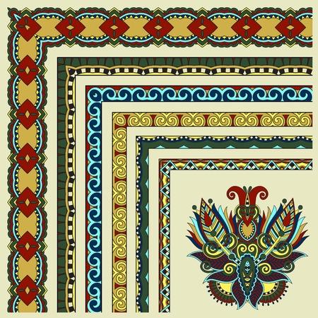 floral vintage frame design.  Vector