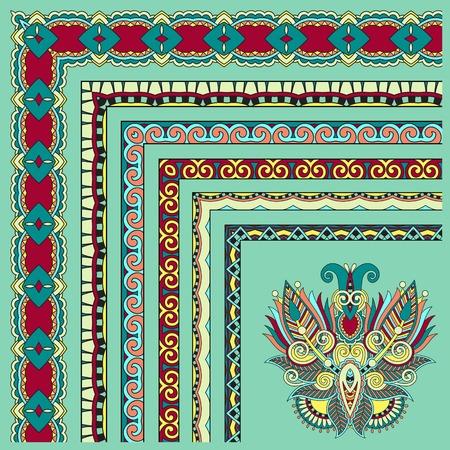 acanthus: floral vintage frame design.  Illustration