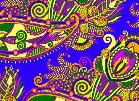 authentic: ethnic horizontal authentic decorative paisley pattern for your design, geometric ukrainian carpet ornamental background