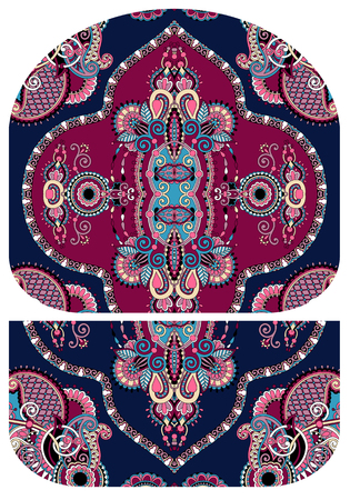 capacious: pattern of purse money design, you can print on fabric to do some sewing a wallet or handbag, vector illustration
