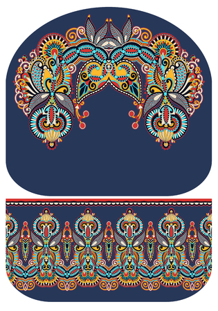 reticule: pattern of purse money design, you can print on fabric to do some sewing a wallet or handbag, vector illustration