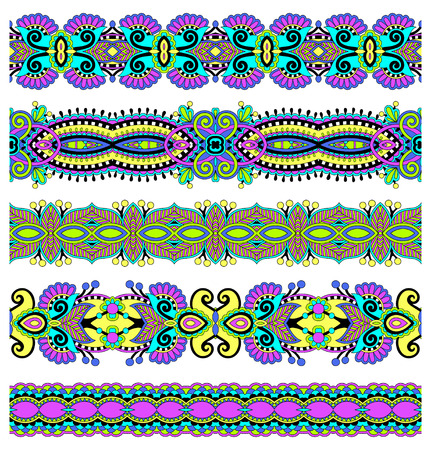 endless: seamless geometry vintage pattern, ethnic style ornamental background, ornate floral decor for fabric design, endless texture