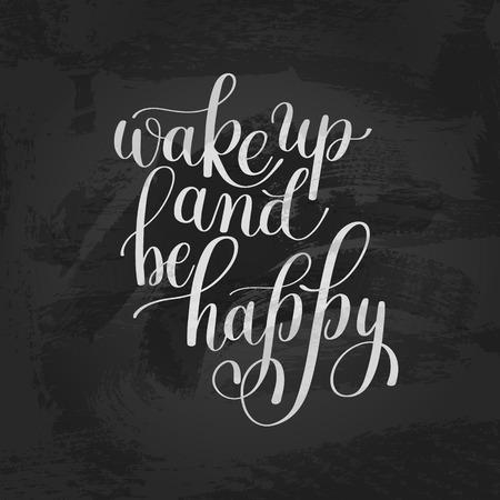 Despertar Y Ser Feliz. Mañana Cita Inspirada, De La Mano De Texto ...