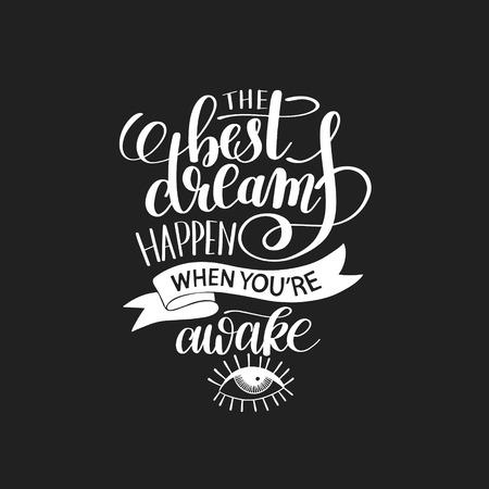 awaken: the best dreams happen when youre awake
