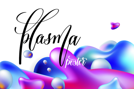abstract background plasma poster to your banner desig