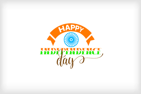 India independence day design. Vector Illustration