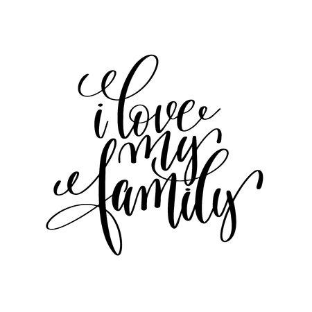 I Love My Family Stock Photos And Images 123rf