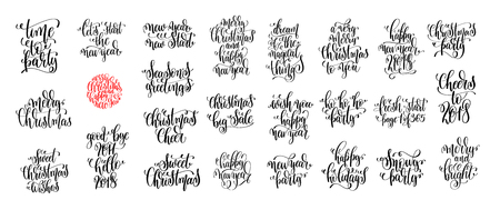 Christmas Card Sayings.297 Christmas Card Sayings Cliparts Stock Vector And