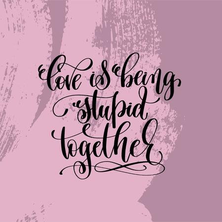 liefde die stom hand inscriptie inscriptie