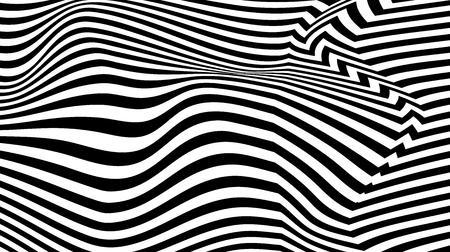 torsion illusion pattern, optical geometric design