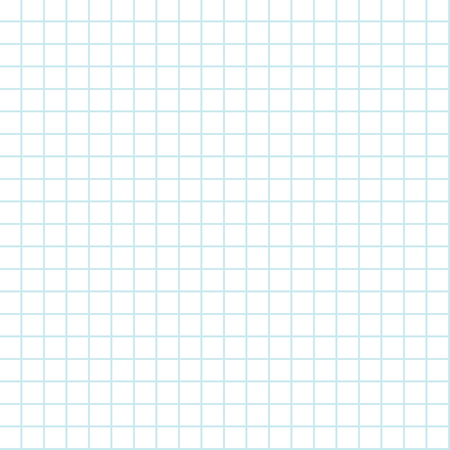 seamless grid background lined sheet of paper for print or design for back to school holiday, vector illustration Vektorové ilustrace