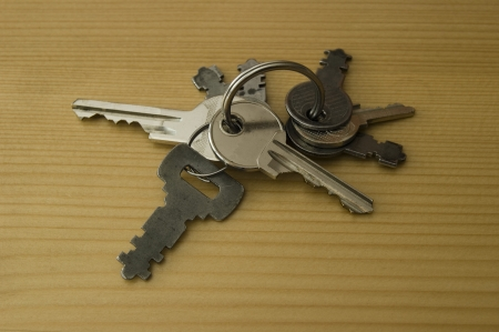 barndoor: Volume of different types and shapes of metal house keys