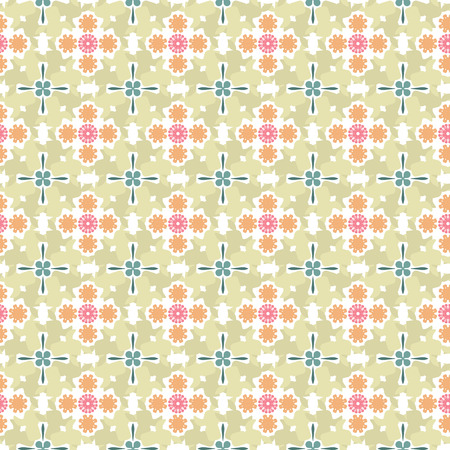 Vector pattern - colorful seamless geometrical background. There is an opportunity to easily change color. You can apply it in the wide range of use.Vector illustration.