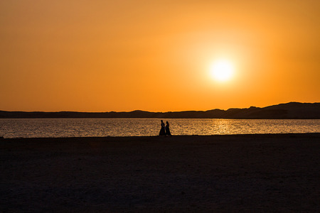 Sunset in Ras Mohammed, Sinai, Egypt