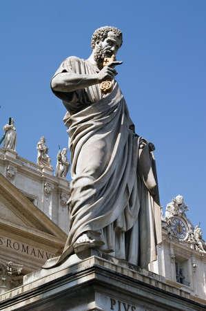 vatican: St. Peter Statue, Vatican, Roma, Italy