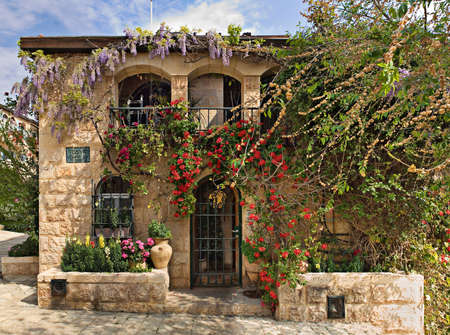 Yemin Moshe district, Jerusalem, Israel