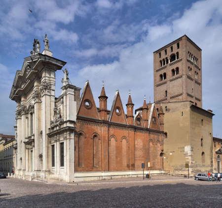 Cathedral in Mantova