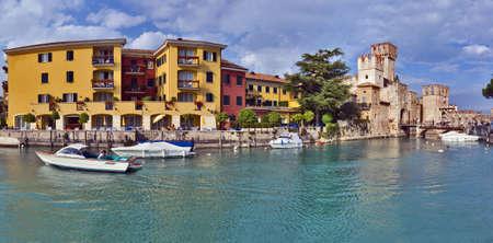 View on Rocca Scaligieri, Sirmione, Italy