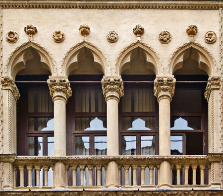 Windows in Vicenza, Italy Stock Photo - 3801443