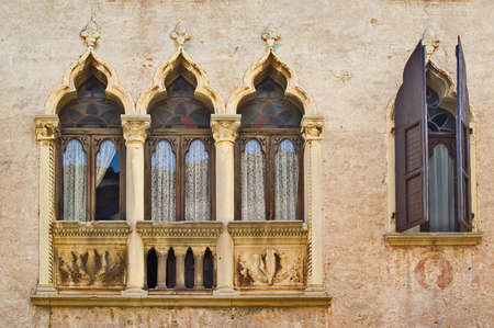 Windows in Vicenza, Italy