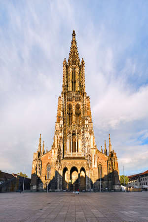 munster: Ulm Cathedral (Munster), Baden-Wurtemberg, Germany Stock Photo