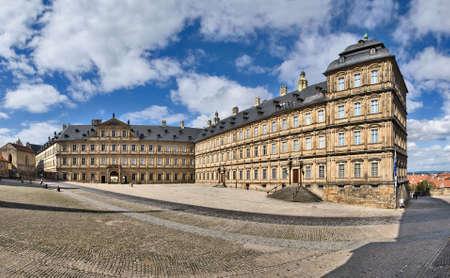 residenz: Neue Residenz palace in Bamberg, Bavaria, Germany