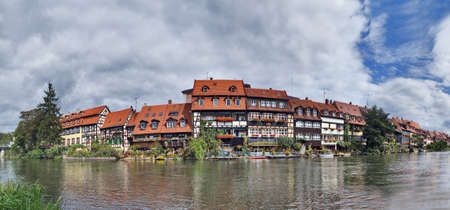 Klein-Venedig (Little Venice) district, Bamberg, Germany