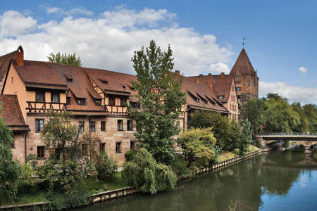 View on Nuremberg, Bavaria, Germany
