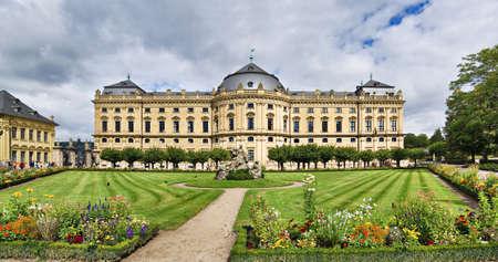 residenz: Residenz palace in Wurzburg, Bavaria, Germany