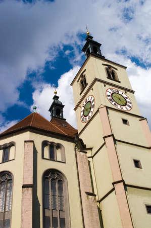 regensburg: Green church, Regensburg, Germany