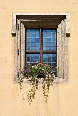 regensburg: Window in Regensburg, Germany
