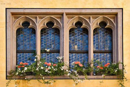 regensburg: Windows in Regensburg, Germany