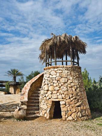 tuinhuis: Zomer-huis, Yad-Ashmona, Israël