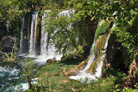 Dudan waterfall in Antalya, Turkey