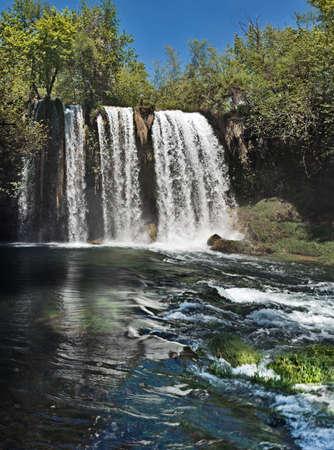 noises: Dudan waterfall in Antalya, Turkey
