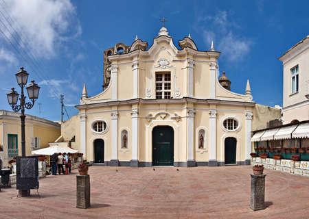 capri: Piazza Armando Diaz, Anacapri, Capri, Italy